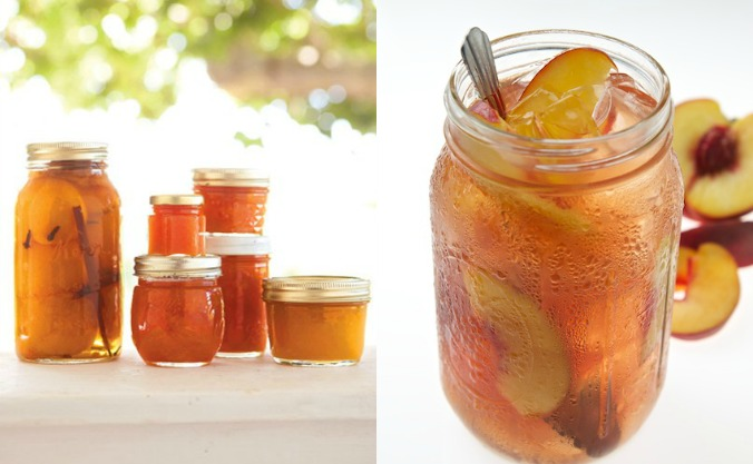 Keep your summer memories alive in your kitchen cupboard with peach preserves