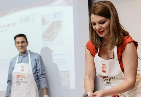 Taste FRUITful LIFE στη Σερβία με τον ΑΣΕΠΟΠ Βελβεντού